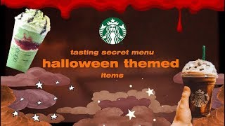 Starbucks Barista Tries Joker & Jack Skellington Frappuccinos