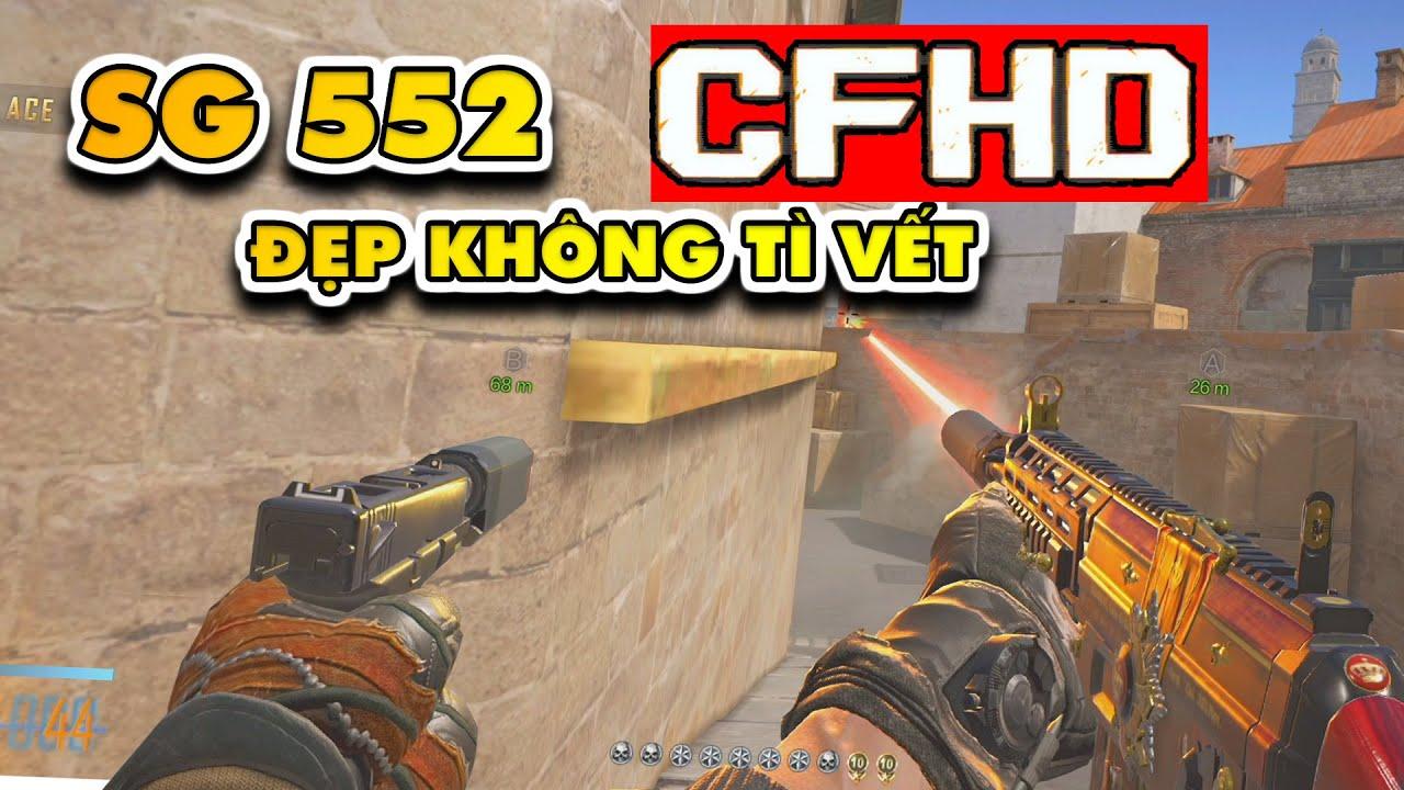 ☆ CFHD - SG552 nhìn lạ thế ?. Map Trạm phát sóng phiên bản đồ họa cao cấp nhất -  Tú Lê ☆