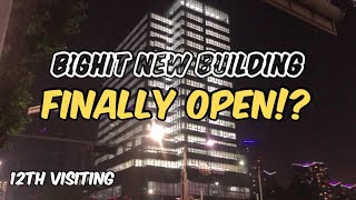 Bighit New Building 12th Visiting Finally Open!? 19th August   빅히트 신사옥 12번째 방문 드디어 오픈!?