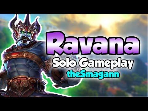 Smite: Jolly Rancher?- Ravana Solo Gameplay
