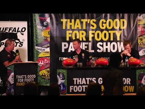 Aussie Rules That's Good for Footy post Grand Final Richmond show 17th Dec 2021