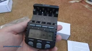 Распаковка. Зарядное устройство La Crosse BC700 (TechnoLine)