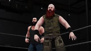 WWE 2K18 Universe Mode   May 2018, Week 4 ECW   Bludgeon Brothers vs Young Bucks