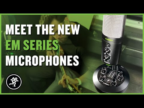 Meet the New EleMent Series USB Microphones