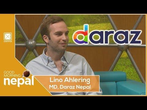 Lino Ahlering | MD, Daraz Nepal | Good Morning Nepal - 18 December 2019