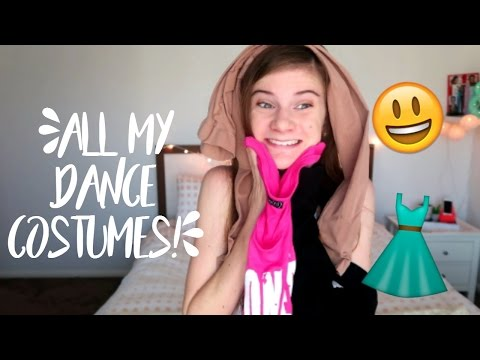 ALL MY DANCE COSTUMES!