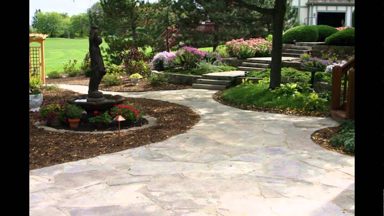 Awesome Stone Patio Designs | Patio Stone Designs | Stone Patio Designs Pictures    YouTube