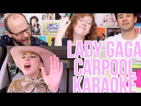 LADY GAGA - CARPOOL KARAOKE - REACTION