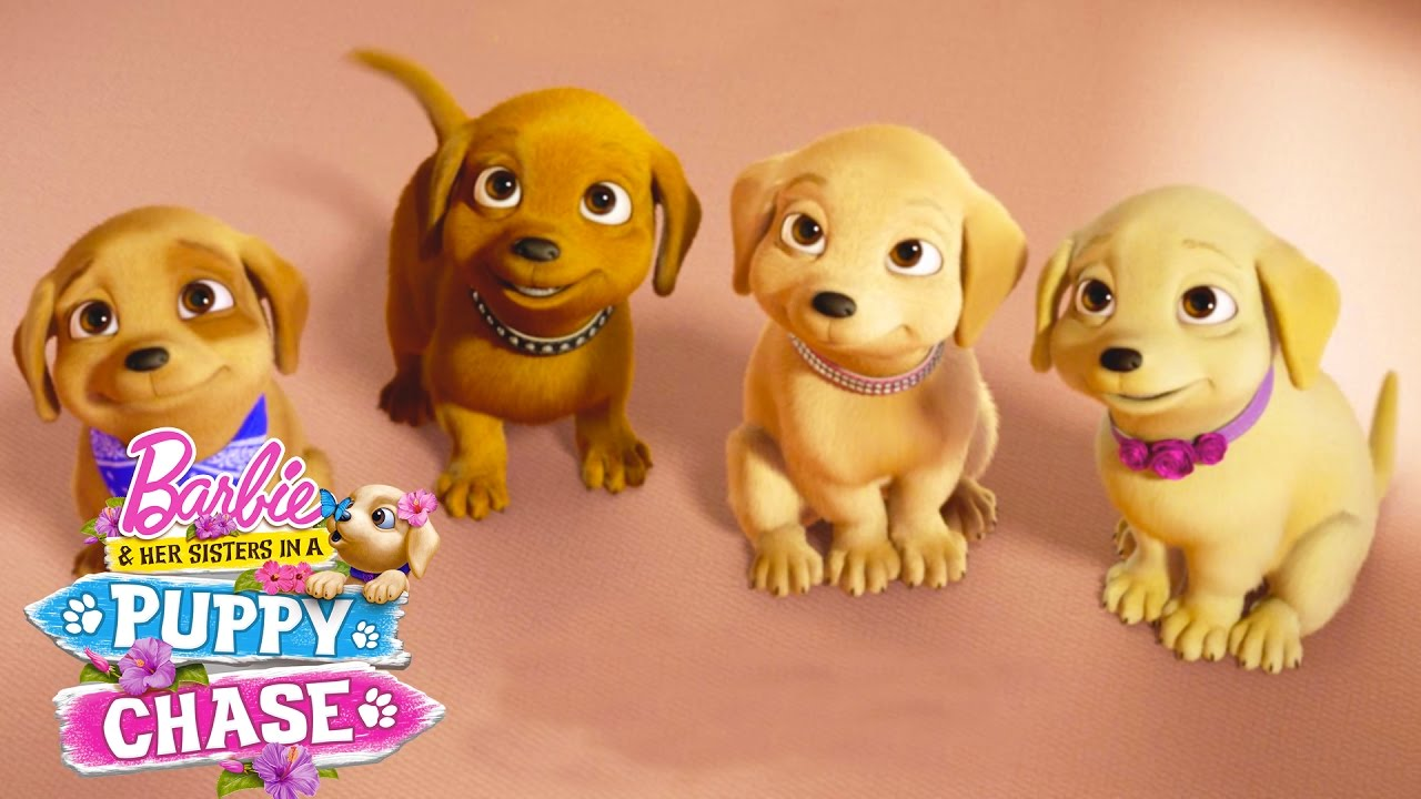 Meet The Puppies From Barbie Her Sisters In A Puppy Chase