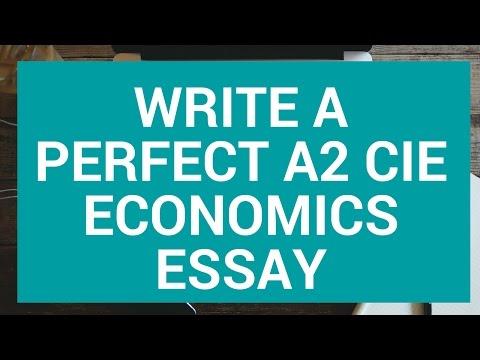 cie a economics write the perfect essay  cie a2 economics write the perfect essay 1