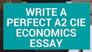 why study economics essay