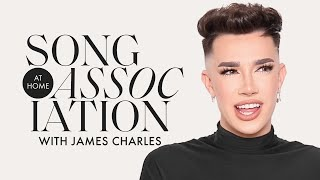 James Charles Sings Bruno Mars, Miley Cyrus, and Rihanna in a Game of Song Association | ELLE