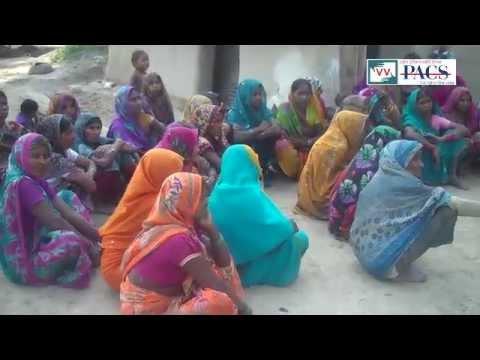 Waiting on Toilets in Sadaupur, Uttar Pradesh - Video Volunteer Kesha Devi Reports