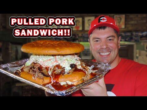 Saucy BBQ Pulled Pork Sandwich Challenge In Mobile, Alabama!!