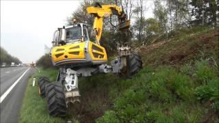 SEPPI M. - BMS - excavator mulcher / trinciatrice x escavatori / Baggermulcher