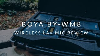 Affordable Wireless Lavalier Mic First Impressions and Tests - Boya BY-WM8 Microphones