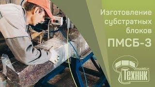 Оборудование для изготовления грибных блоков вешенки ПМСБ-3