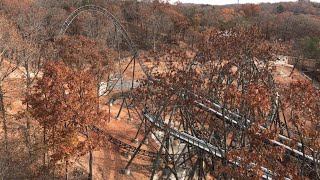 Time Traveler EXCLUSIVE LOOK!  Construction Tour At Silver Dollar City November 11th 2017