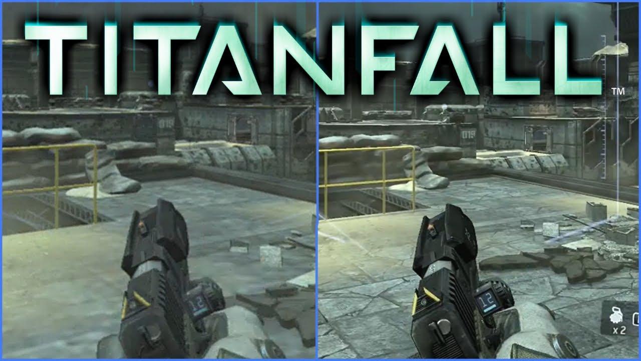Titanfall Xbox One Vs. Xbox 360 Graphics Comparison - YouTube