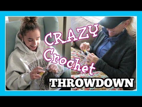 MOTHER V DAUGHTER CRAZY CROCHET THROWDOWN!
