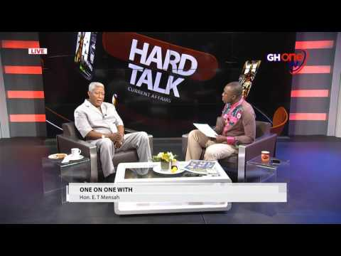 Will ET Mensah retire from politics for good? He confides in Kafui Dey on @GHOne TV