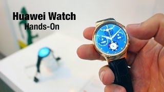 The best smartwatch at MWC 2015? Huawei Watch hands-on