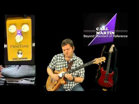 Carl Martin PlexiTone (new 2012 model) Demo by Morten Faerestrand