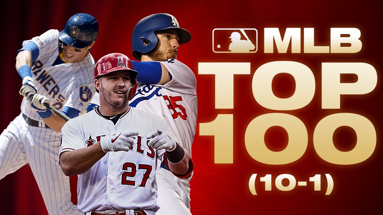 Top 10 Players in MLB | MLB Top 100 (Where did Mike Trout, Cody Bellinger and more end up?)