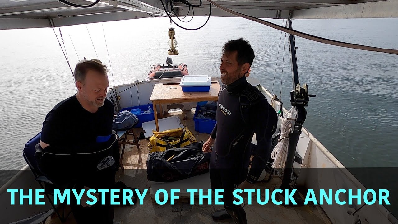 The mystery of the stuck anchor