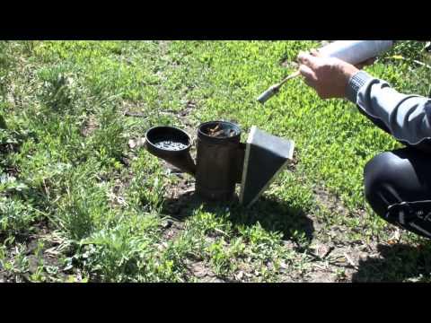 Как быстро и просто разжечь дымарь пчеловода