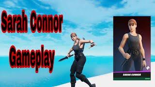 Sarah connor fortnite gameplay (fortnite season 5)