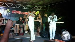 Okyeame Kwame & Yaa Yaa performing  FAITHFUL at #ItsOKToCare concert!!
