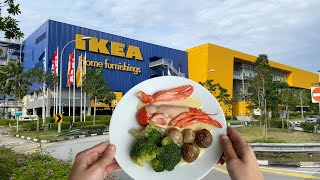 Eating at IKEA Restaurant