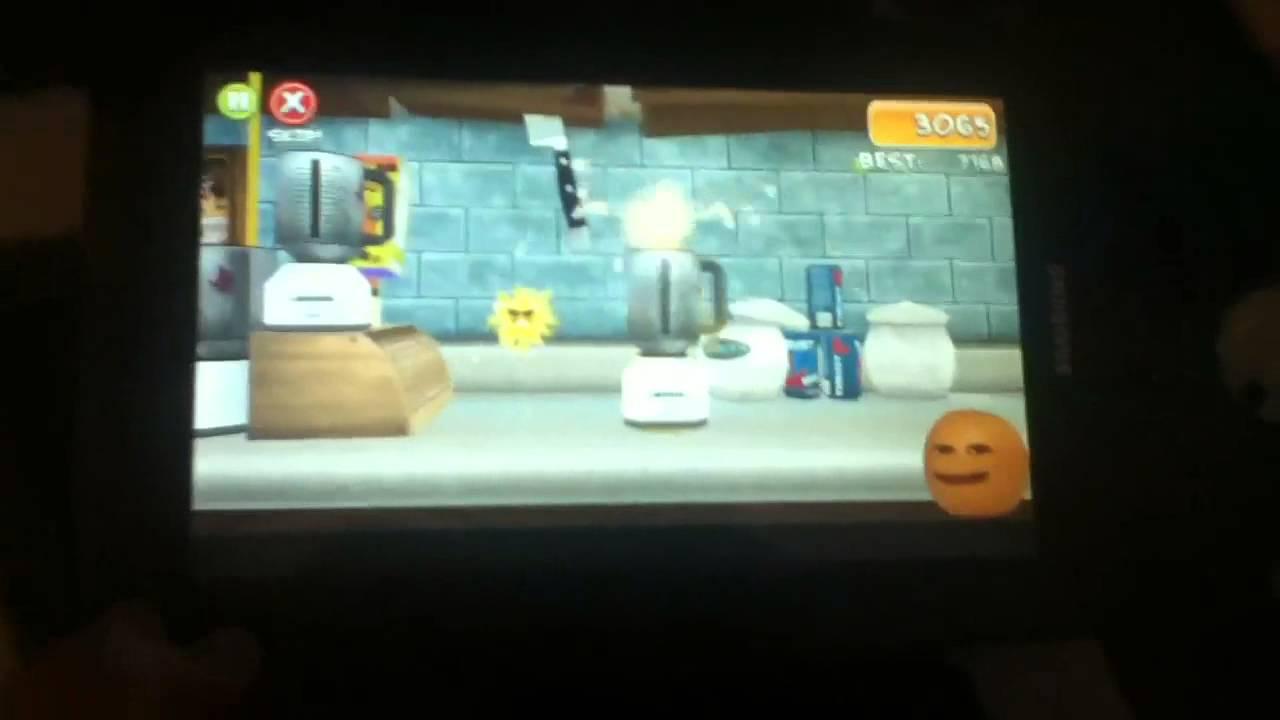 Annoying Orange Splatter Up Gameplay Youtube