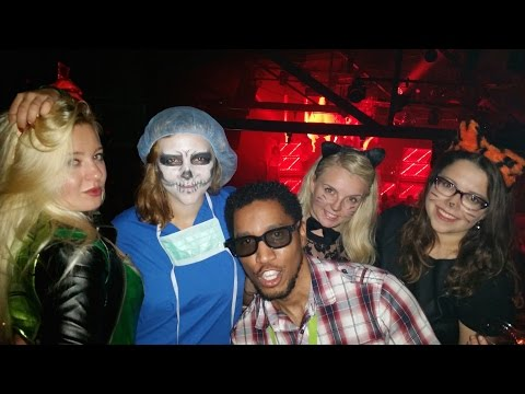 VIPs and Pro at Highline Ballroom in NYC for Halloween 2014 Mp3
