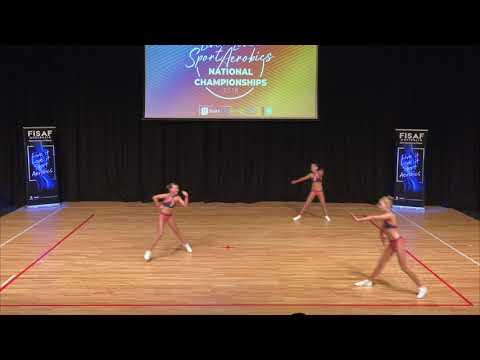 Girl Power - Cadet Trio - FISAF Nationals 2018 - GCSA
