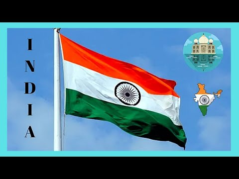 DELHI: Giant INDIAN FLAG in CENTRAL PARK at CONNAUGHT PLACE