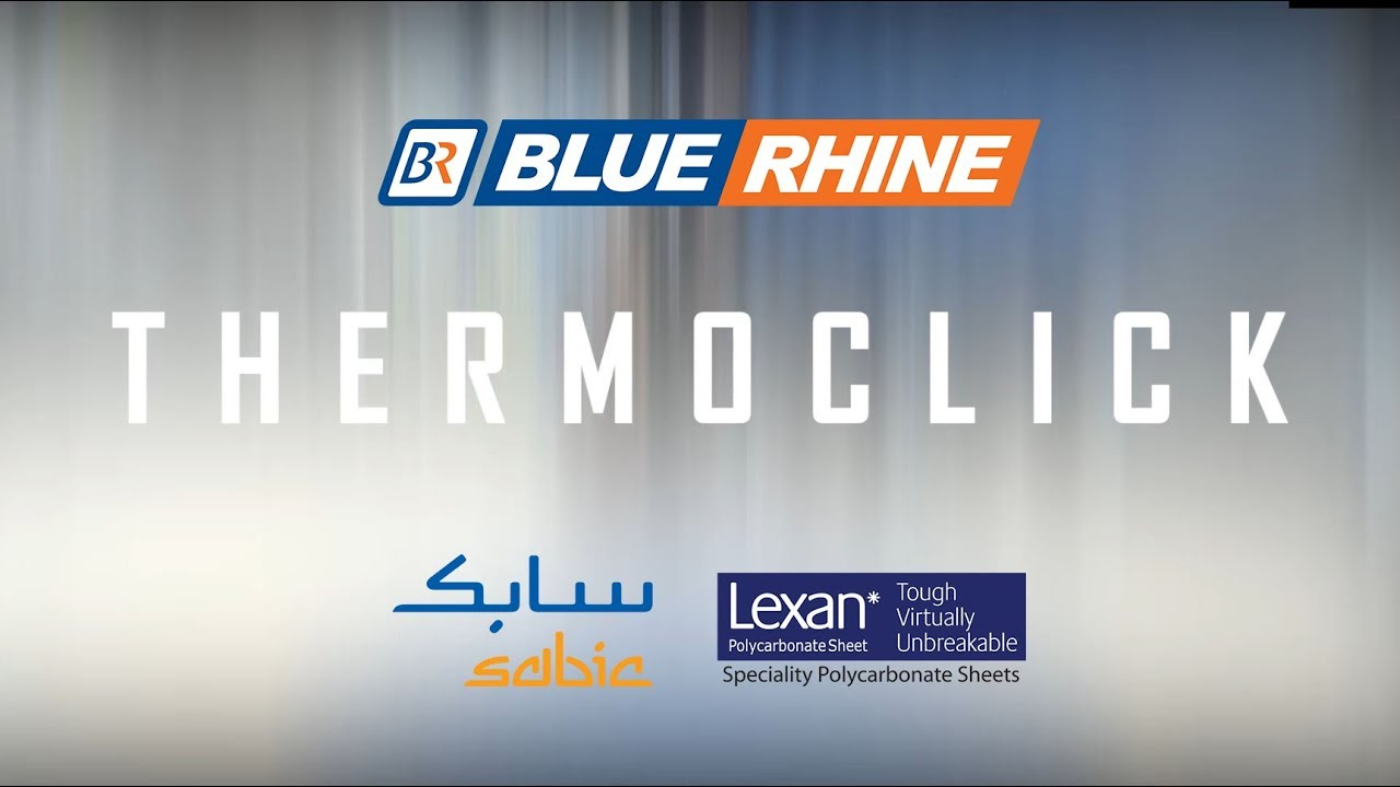 Thermoclick Facade solution from Sabic Lexan