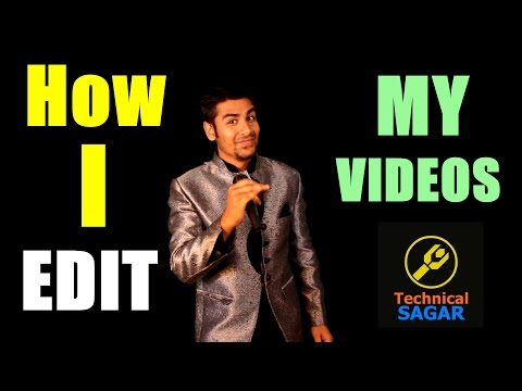 How I Edit My Videos | Super Simple Video Editing For NEW Youtubers (in hindi)