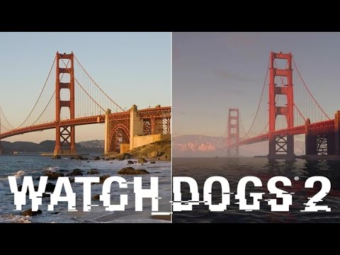 Watch Dogs 2 vs Real Life: San Francisco
