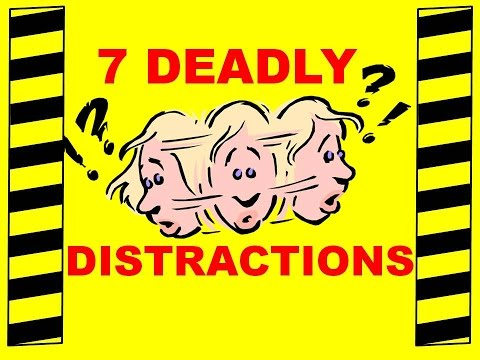7 Deadly Distractions - Driving, Operating Forklifts Or Machinery - Safety Training Video