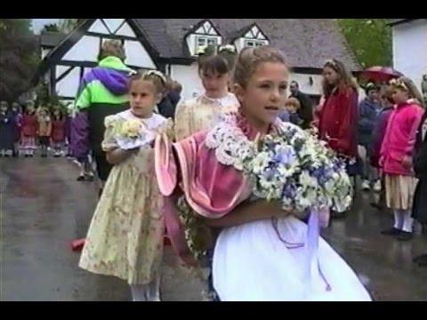 Elmley Castle, Oak Apple Day 1996