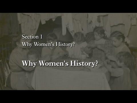 MOOC WHAW1.1x | 1.2.1 Why Women