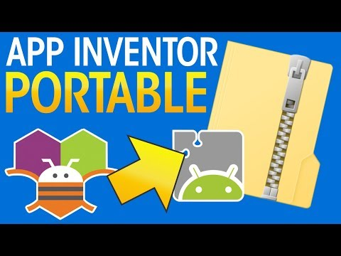 App Inventor 2 Offline Portable - How To Download, Install, Setup, Use