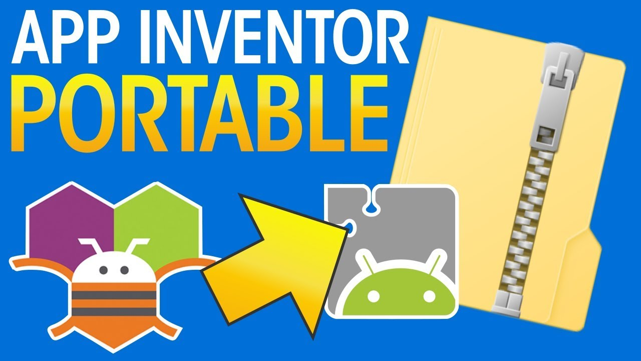 App Inventor 2 Offline Portable How To Download Install Setup Use Youtube