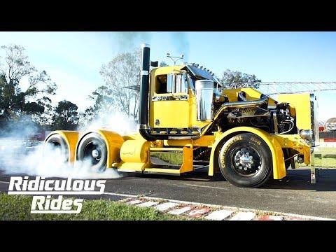 Meet Filthy: The 900HP Custom Burnout Truck | RIDICULOUS RIDES