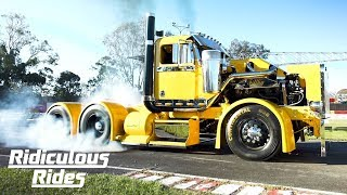 Meet Filthy: The 900HP Custom Burnout Truck | RIDICULOUS RIDES