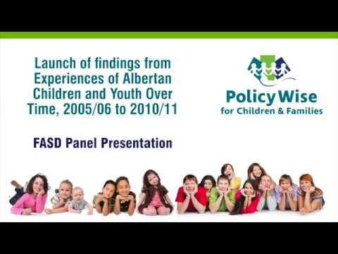 FASD Panel: How findings impacted policy, program and service delivery