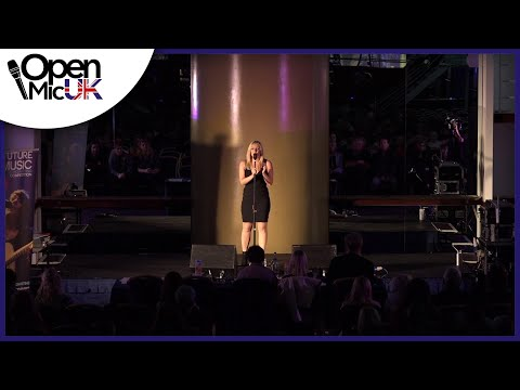 CHANDELIER – SIA performed by LIVA J at Open Mic UK music competition