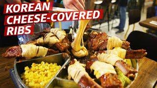 Is Covering Korean Pork Ribs in Melted Mozzarella a Good Idea? —K-Town